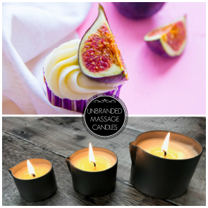 Unbranded Massage Candles