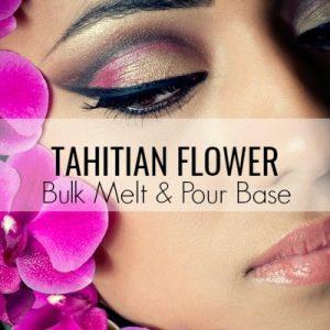 Tahitian Flower Bulk Melt & Pour Massage Candle Base