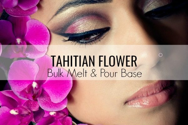 Tahitian Flower Bulk Melt & Pour Massage Candle Base