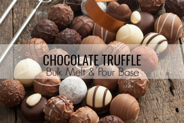 Chocolate Truffle Bulk Melt & Pour Massage Candle Base