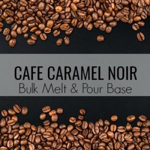 Cafe Caramel Noir Bulk Melt & Pour Massage Candle Base