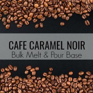 Cafe Caramel Noir Bulk Melt & Pour Massage Candle Base