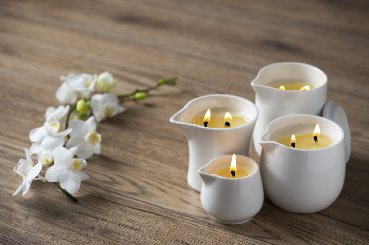 Orli Massage Candle Ceramic Containers