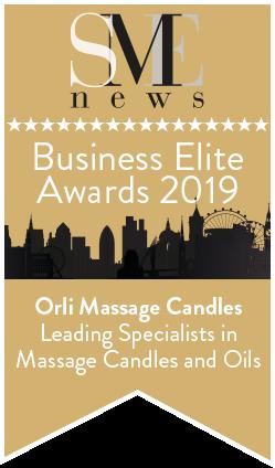 Orli Massage Candle Award